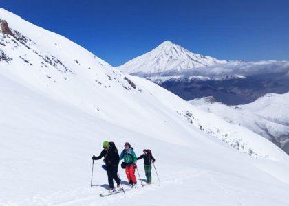 iran ski touring